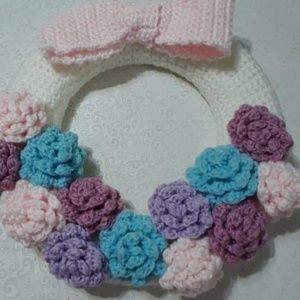 Other - Handmade crochet wreath